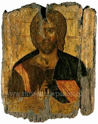 Спас Вседержитель, II пол XIV века.
